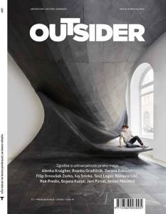 Cover Design Magazine Outsider